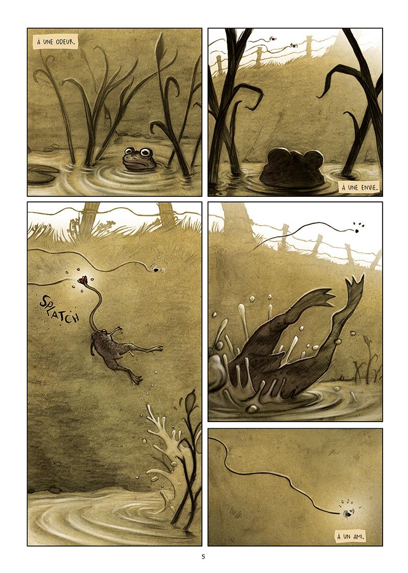 Extrait n°3 de la bd Les Dormants par Jonathan Munoz