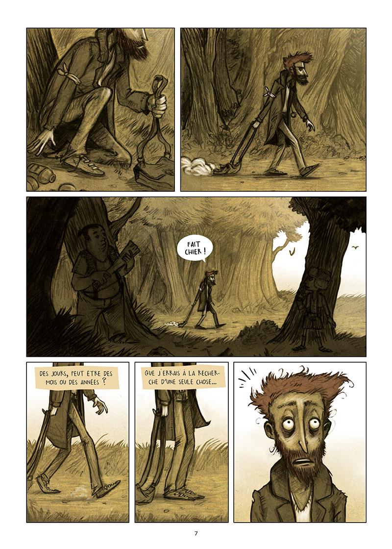 Extrait n°5 de la bd Les Dormants par Jonathan Munoz