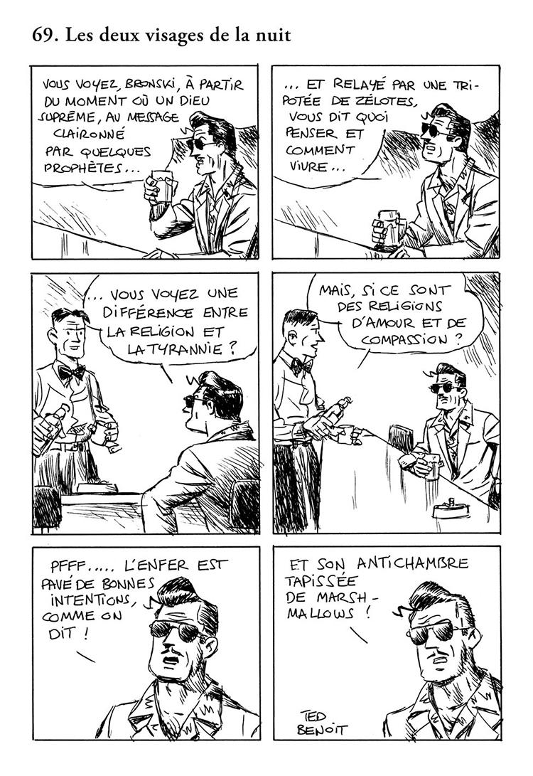 Extrait n°5 de la bd tome 4 par Ted Benoît