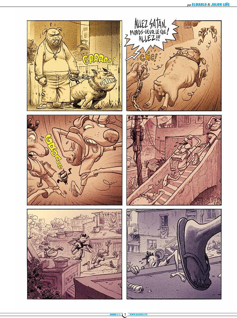 Extrait n°2 de la bd tome 5 par Pixel Vengeur