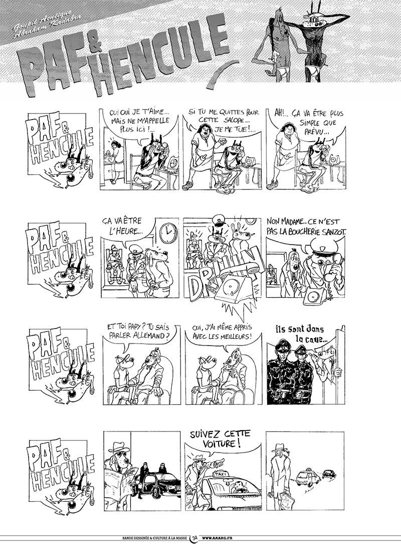 Extrait n°3 de la bd tome 5 par Pixel Vengeur