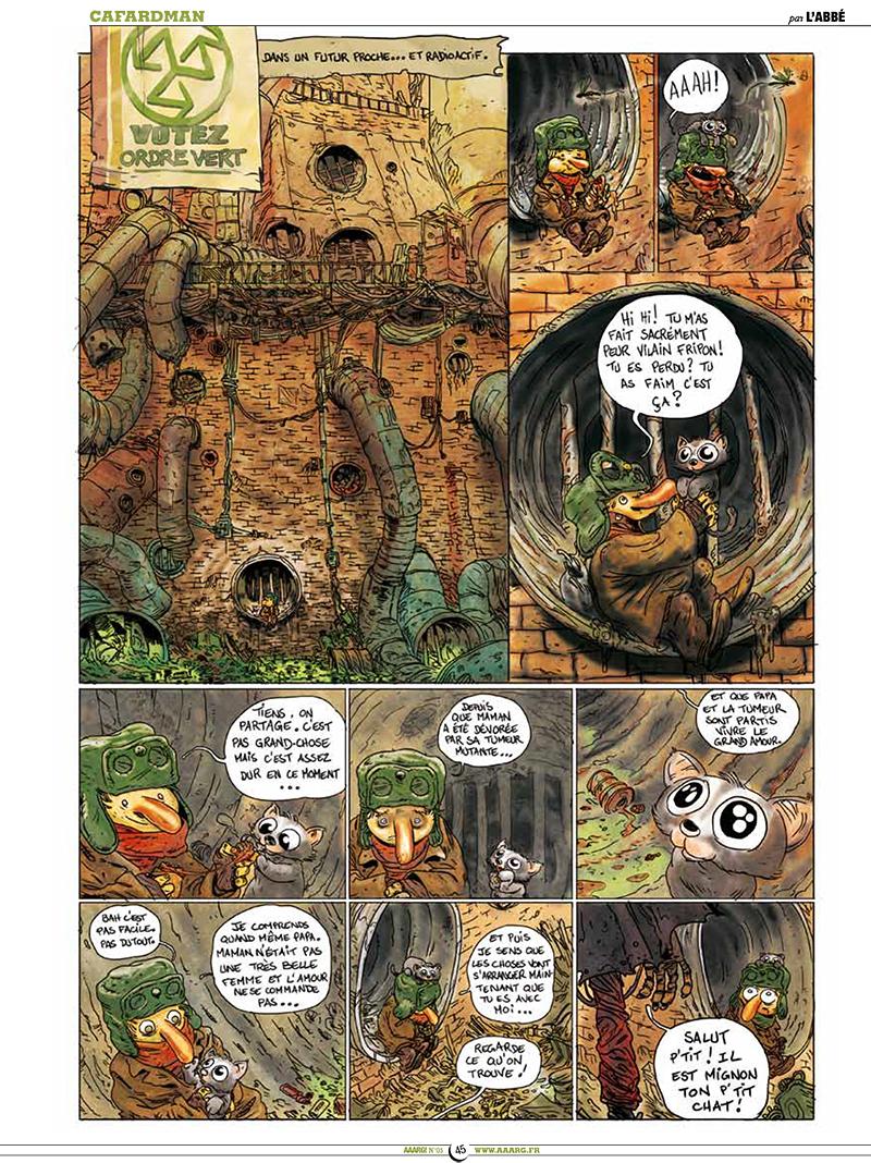 Extrait n°4 de la bd tome 5 par Pixel Vengeur