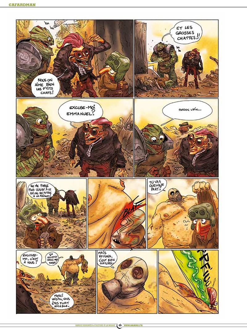 Extrait n°5 de la bd tome 5 par Pixel Vengeur
