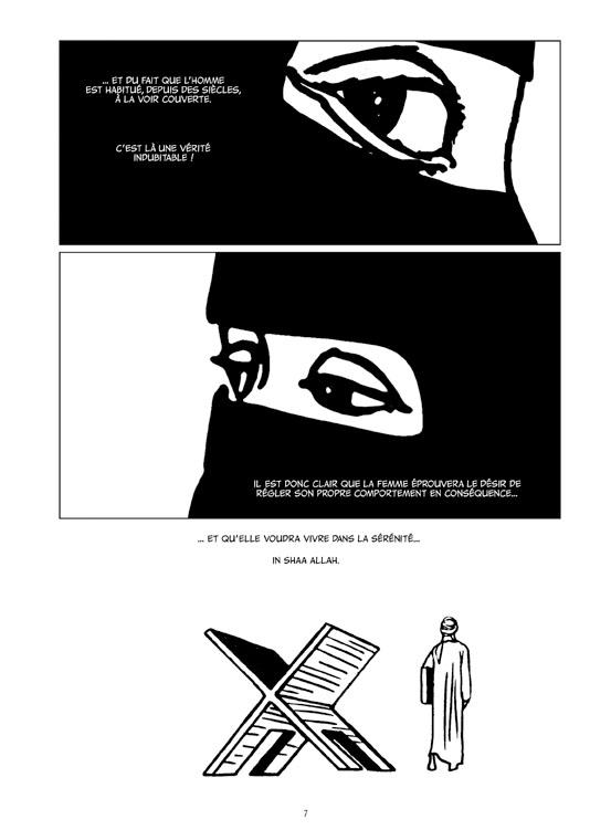 Extrait n°2 de la bd Le Monde d'Aïcha par Ugo Bertotti