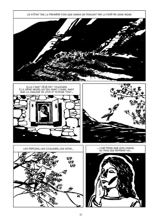 Extrait n°4 de la bd Le Monde d'Aïcha par Ugo Bertotti