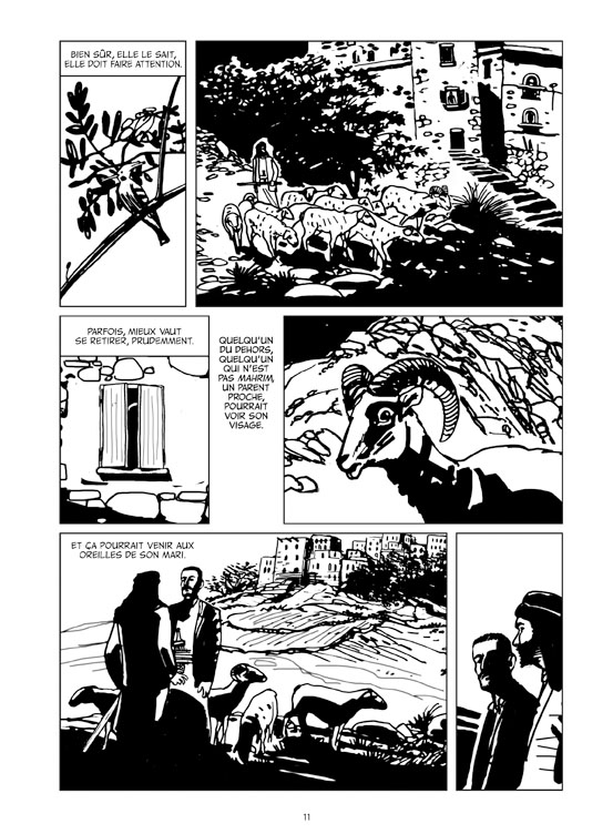 Extrait n°5 de la bd Le Monde d'Aïcha par Ugo Bertotti