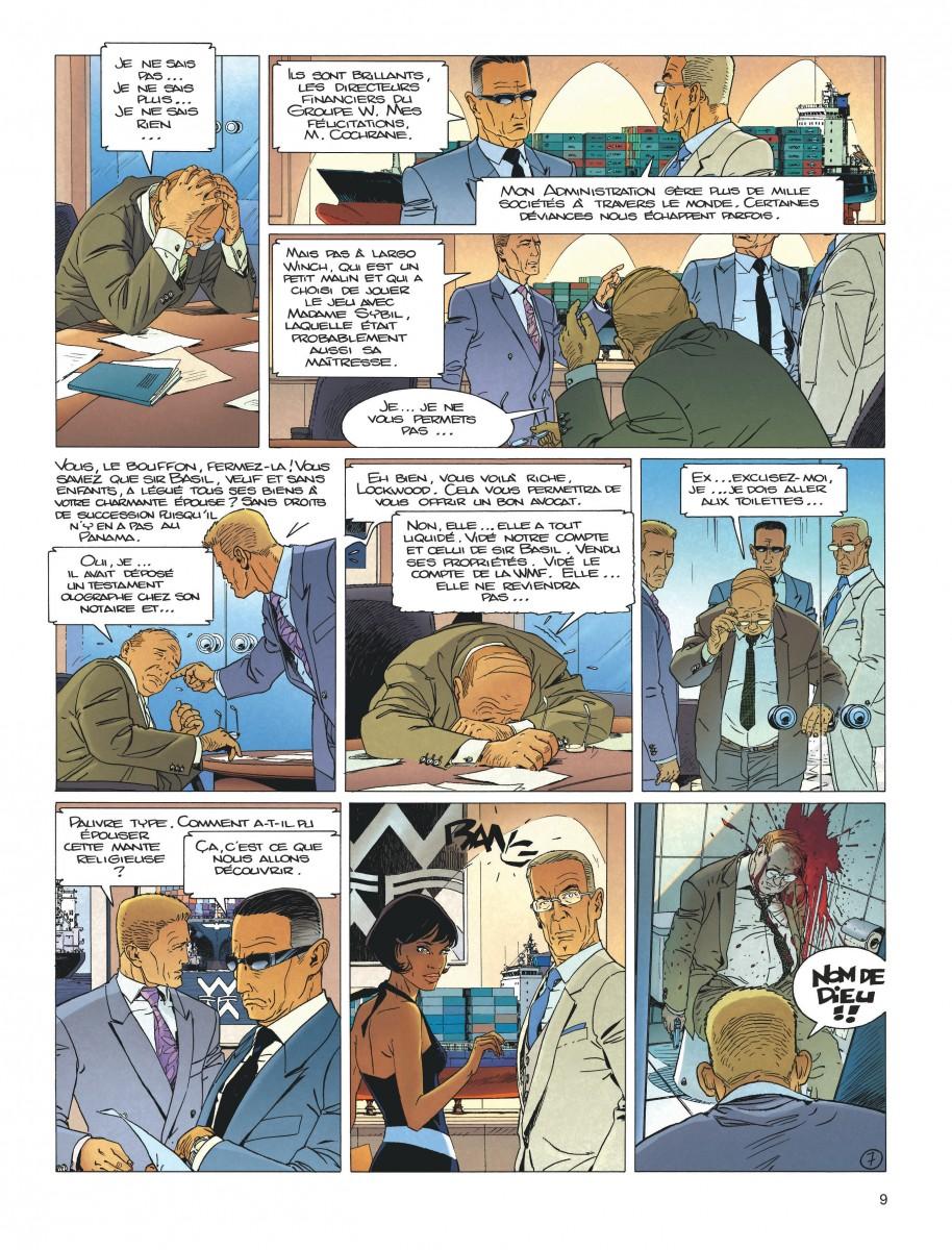 Extrait n°5 de la bd tome 18 par Jean Van Hamme