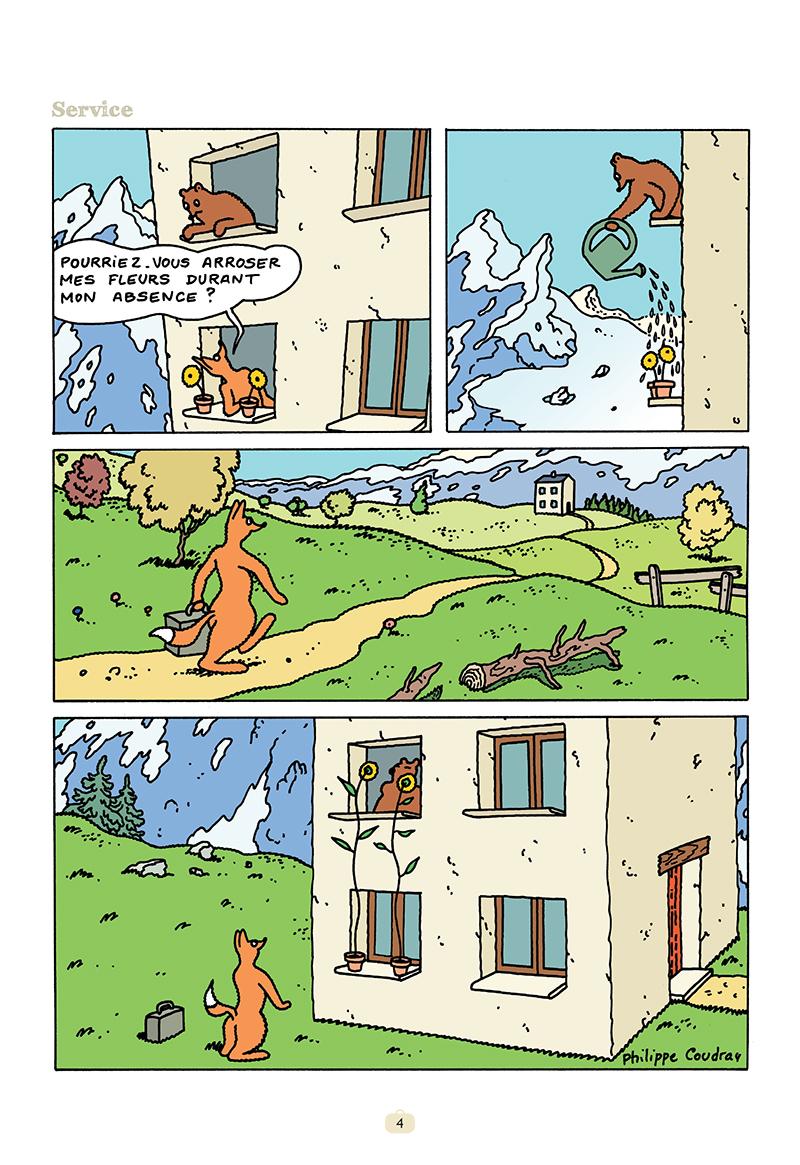 Extrait n°2 de la bd tome 15 par Philippe Coudray