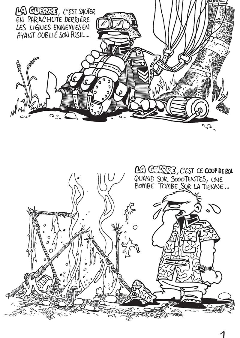 Extrait n°1 du comics Das KämpF par Vaughn Bodé