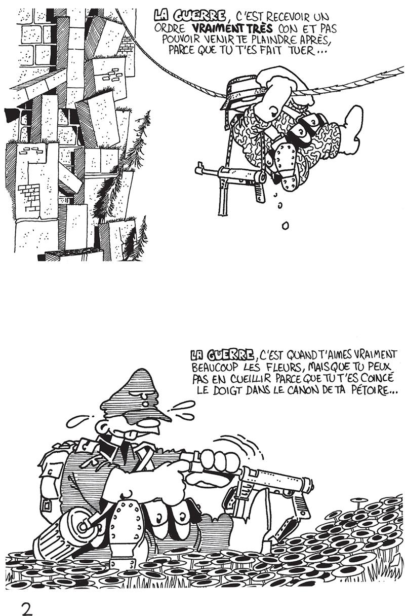 Extrait n°2 du comics Das KämpF par Vaughn Bodé