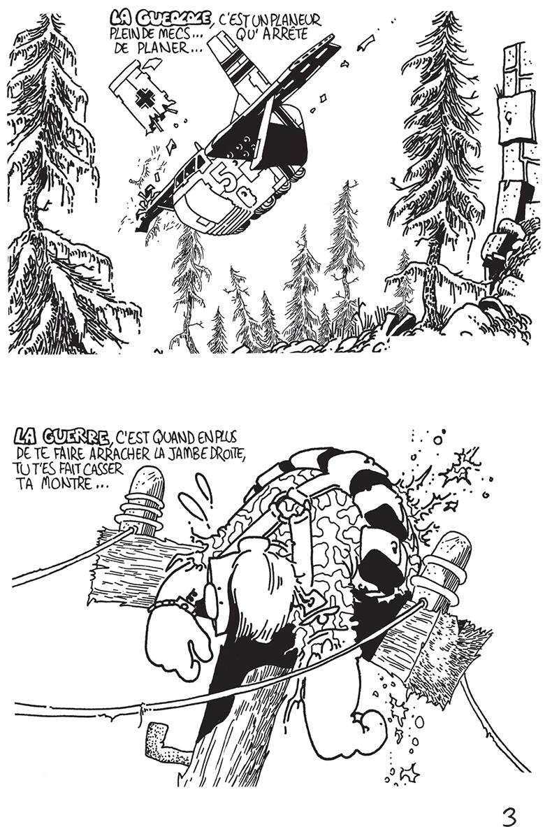 Extrait n°3 du comics Das KämpF par Vaughn Bodé