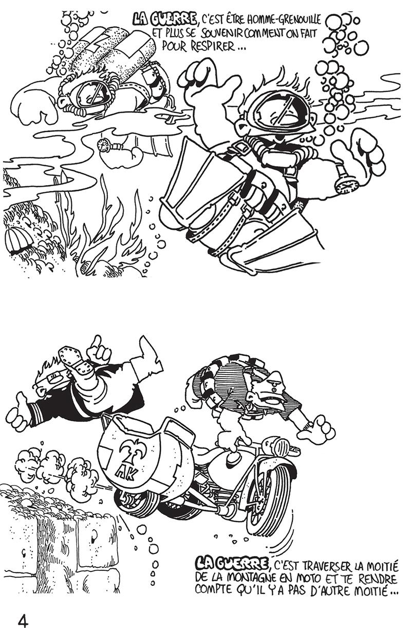 Extrait n°4 du comics Das KämpF par Vaughn Bodé
