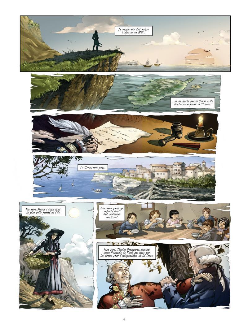 Extrait n°2 de la bd tome 1 par Noël Simsolo