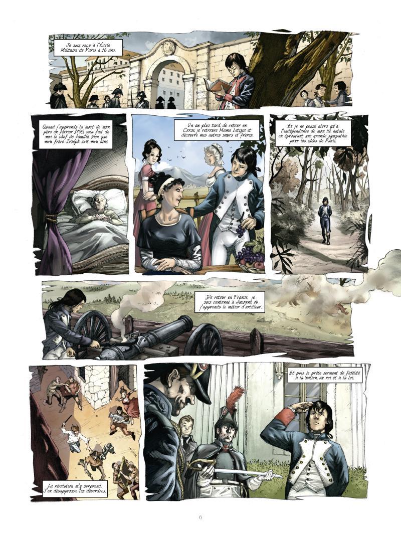 Extrait n°4 de la bd tome 1 par Noël Simsolo