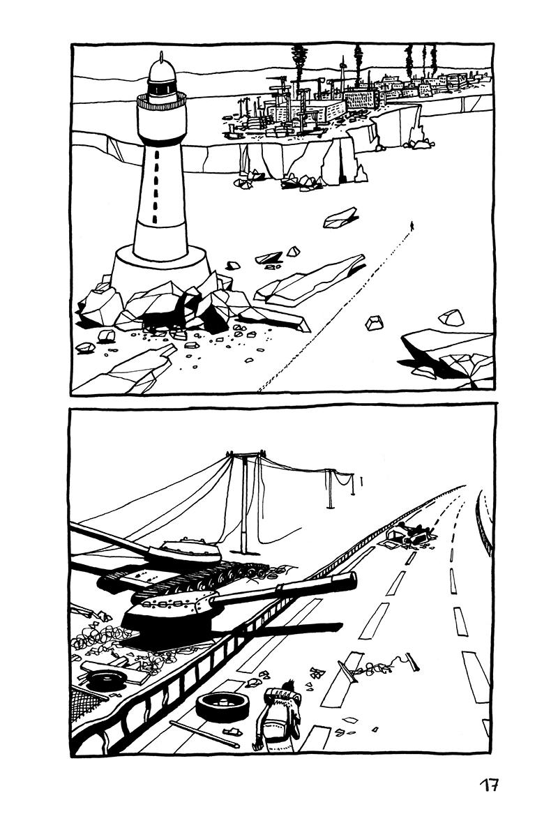 Extrait n°17 de la bd Edgar, ou les Tribulations d'un Pendu par Ariel Pelaprat