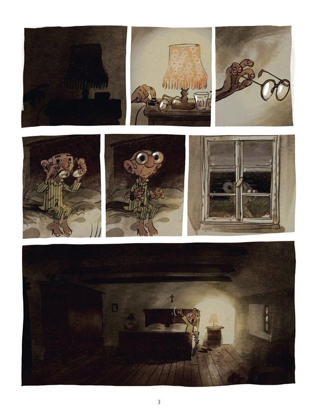 Extrait n°1 de la bd Un Océan d'amour par Wilfrid Lupano