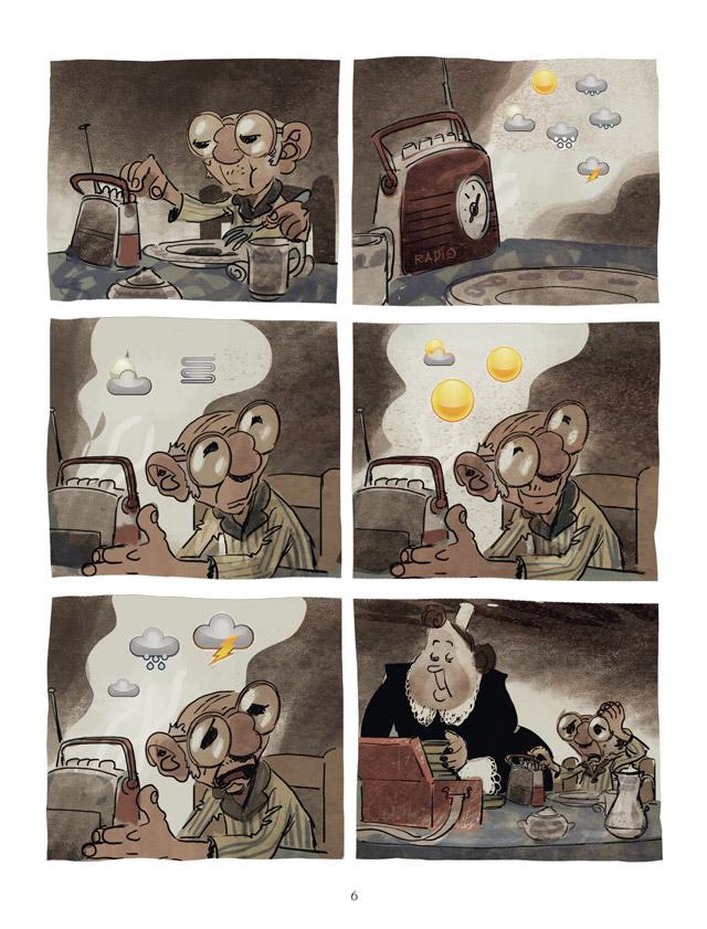 Extrait n°4 de la bd Un Océan d'amour par Wilfrid Lupano