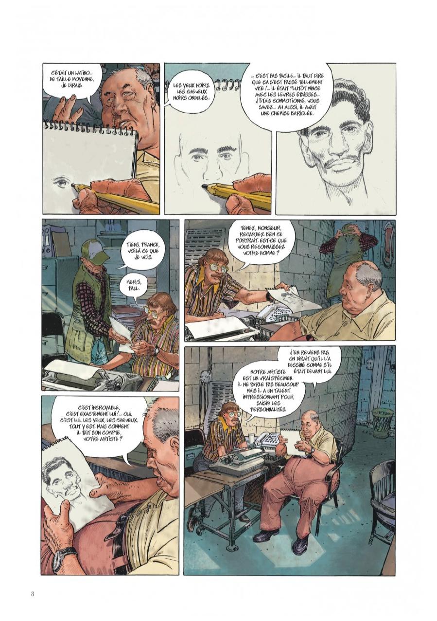 Extrait n°4 de la bd Little Tulip par Jérôme Charyn
