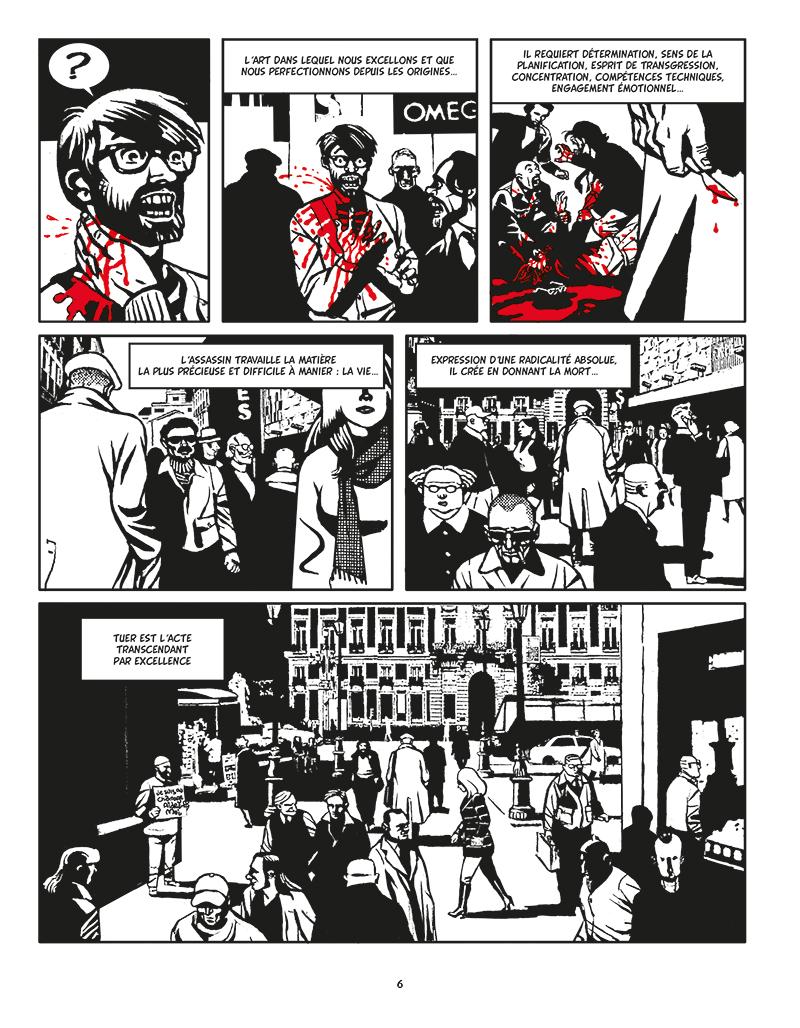 Extrait n°2 de la bd Moi, Assassin par Keko