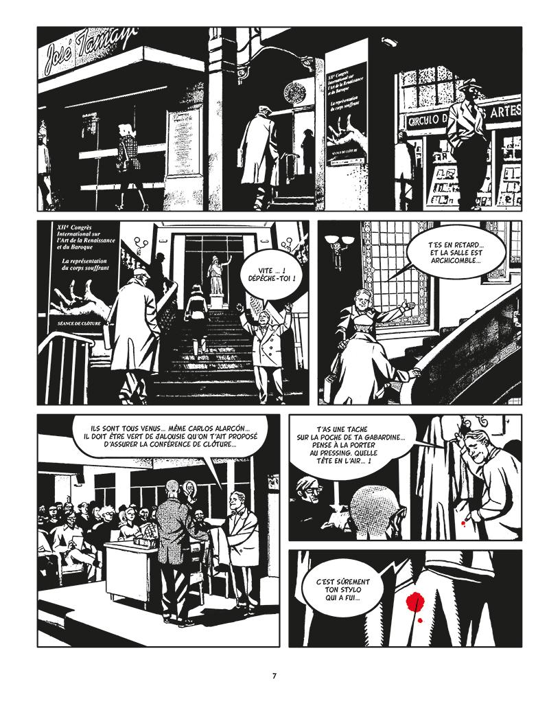 Extrait n°3 de la bd Moi, Assassin par Keko