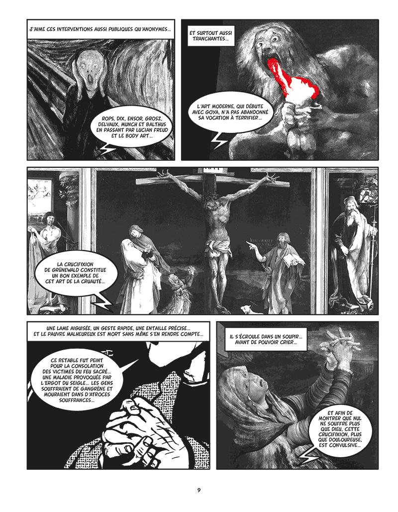 Extrait n°4 de la bd Moi, Assassin par Keko