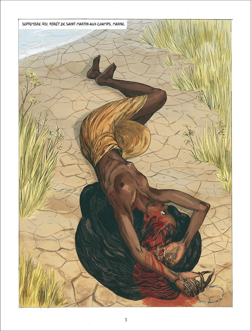 Extrait n°1 de la bd Sauvage - Biographie de Marie-Angélique Le Blanc par Jean-David Morvan