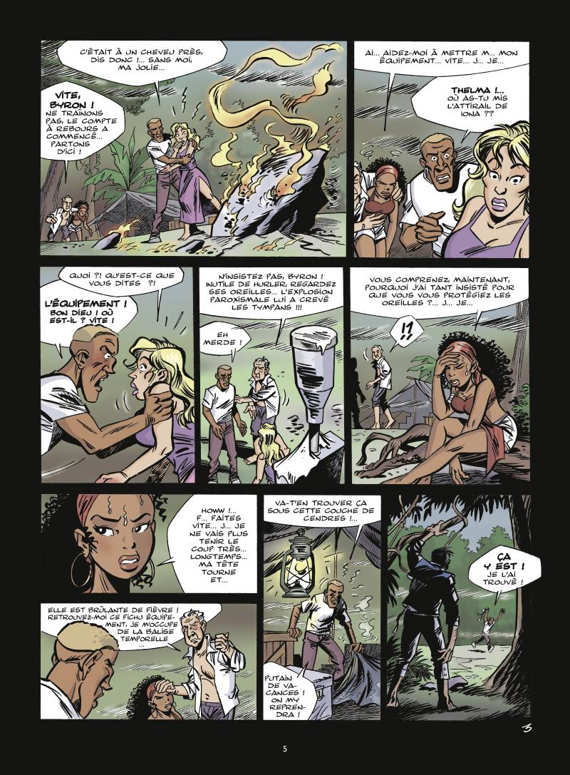 Extrait n°3 de la bd tome 2 par Jean-Marc Krings