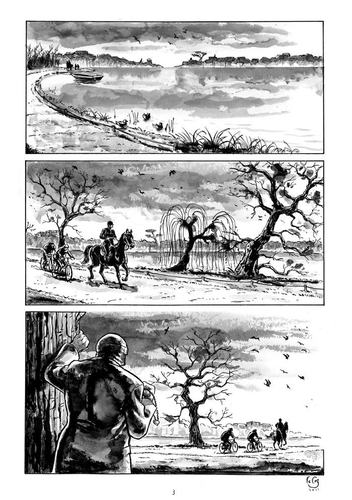 Extrait n°1 de la bd Nous irons tous au bois par Gilles Le Coz