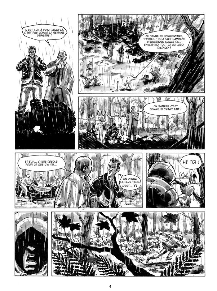 Extrait n°2 de la bd Nous irons tous au bois par Gilles Le Coz