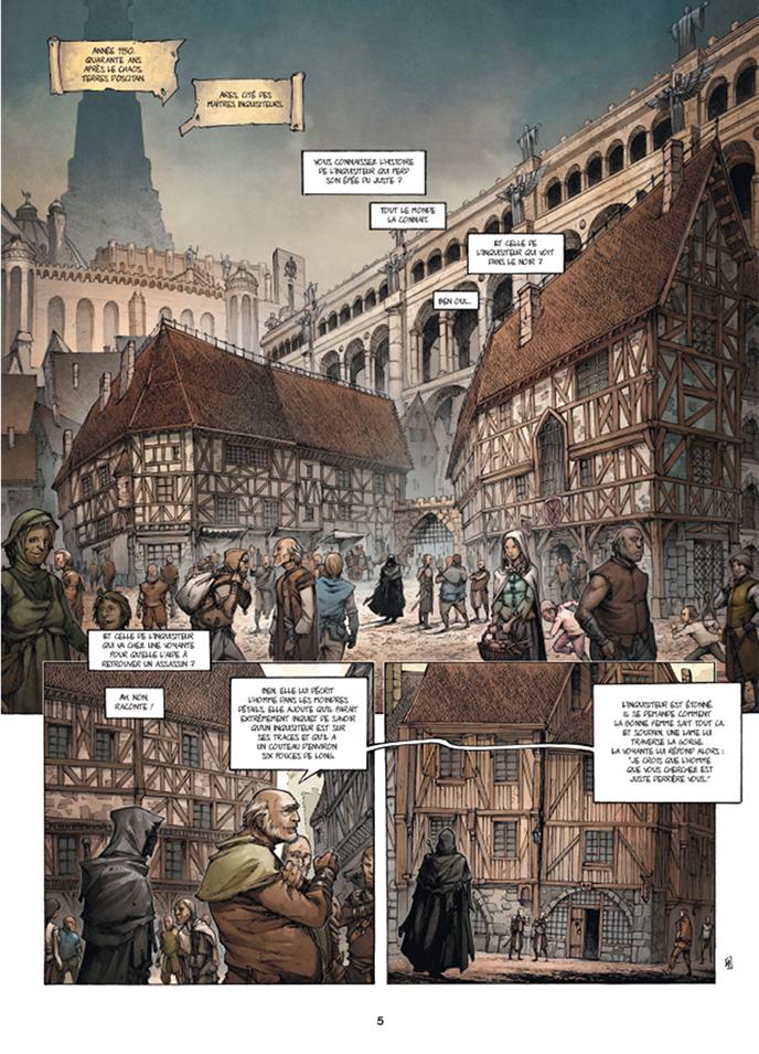 Extrait n°1 de la bd tome 1 par Olivier Péru