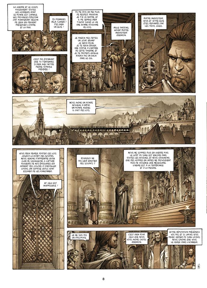 Extrait n°4 de la bd tome 1 par Olivier Péru