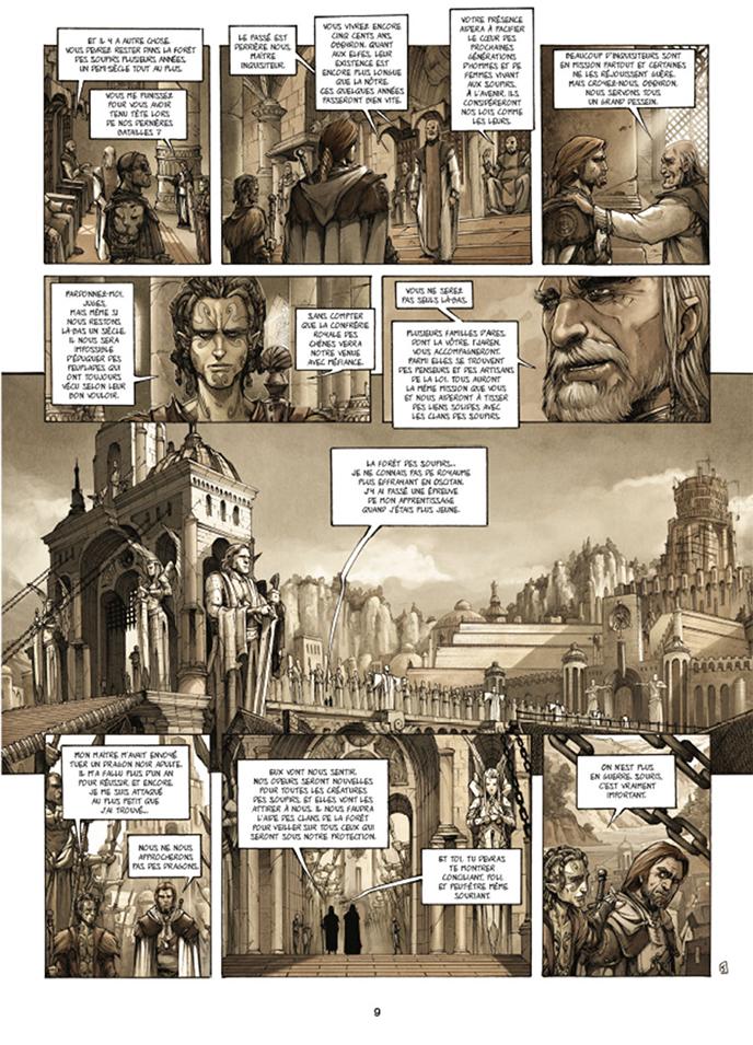Extrait n°5 de la bd tome 1 par Olivier Péru