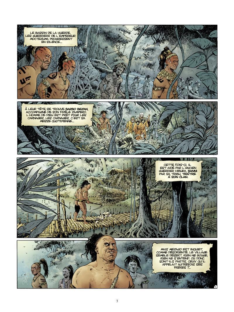 Extrait n°1 de la bd tome 4 par Jean Dufaux