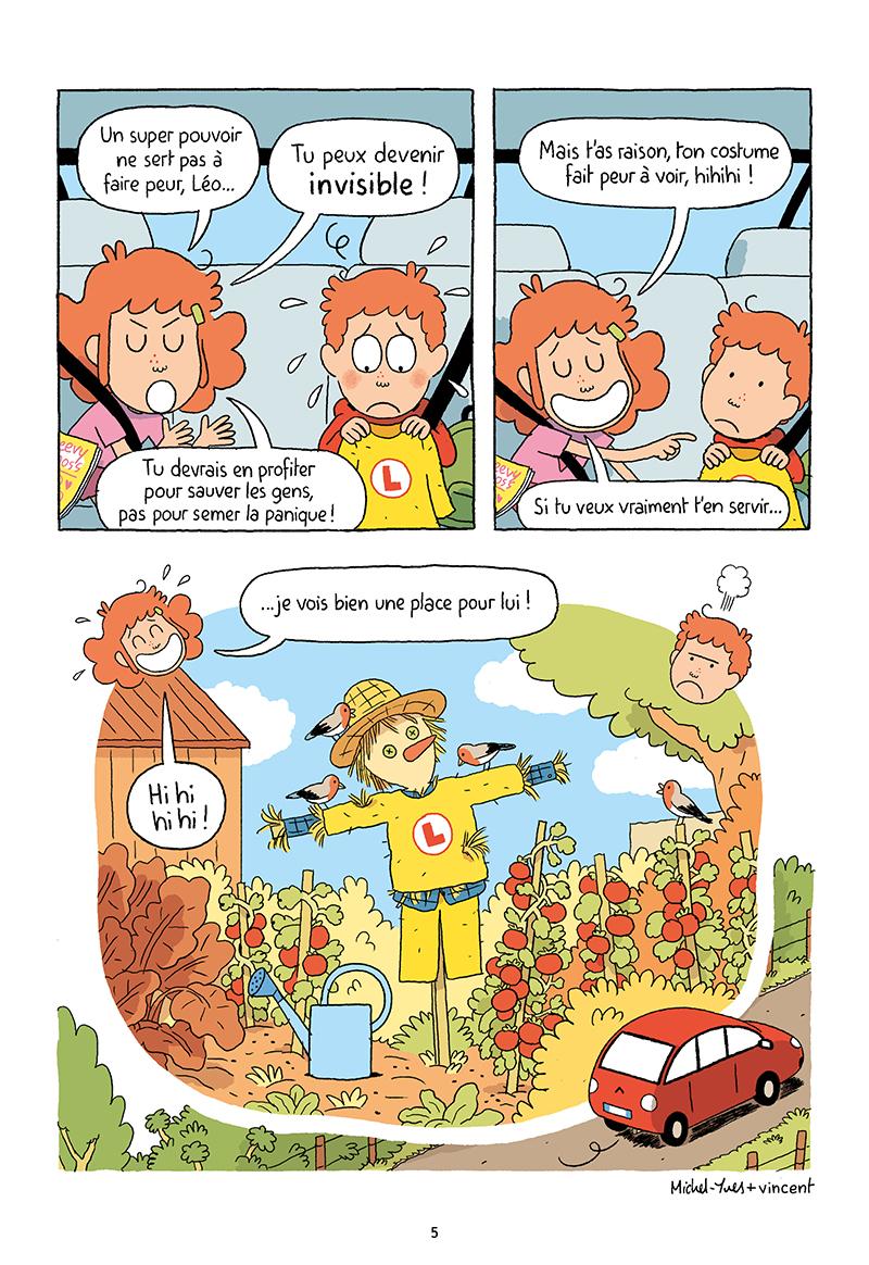 Extrait n°3 de la bd tome 3 par Vincent Caut