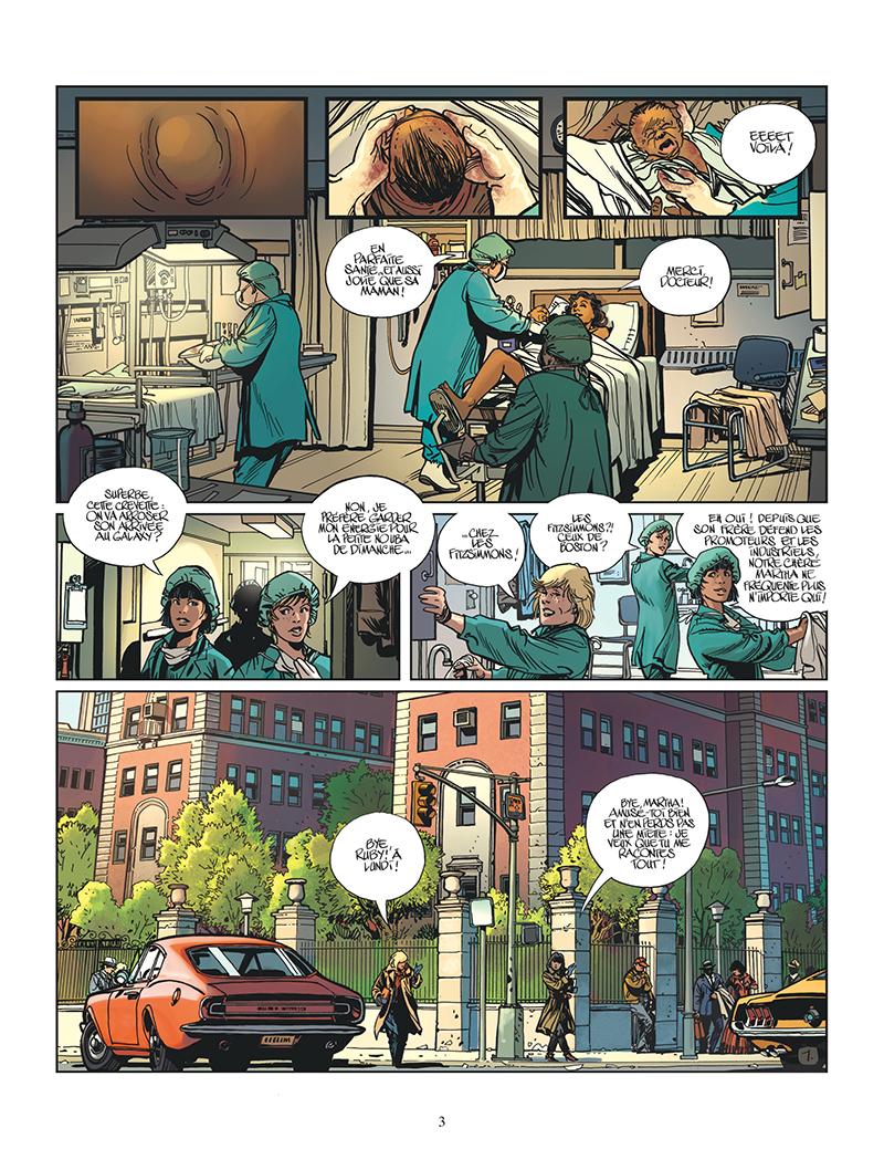 Extrait n°1 de la bd tome 8 par Frank Giroud