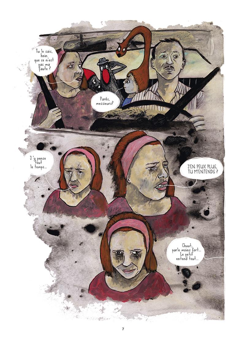 Extrait n°2 de la bd Mourir (ça n'existe pas) par Théa Rojzman