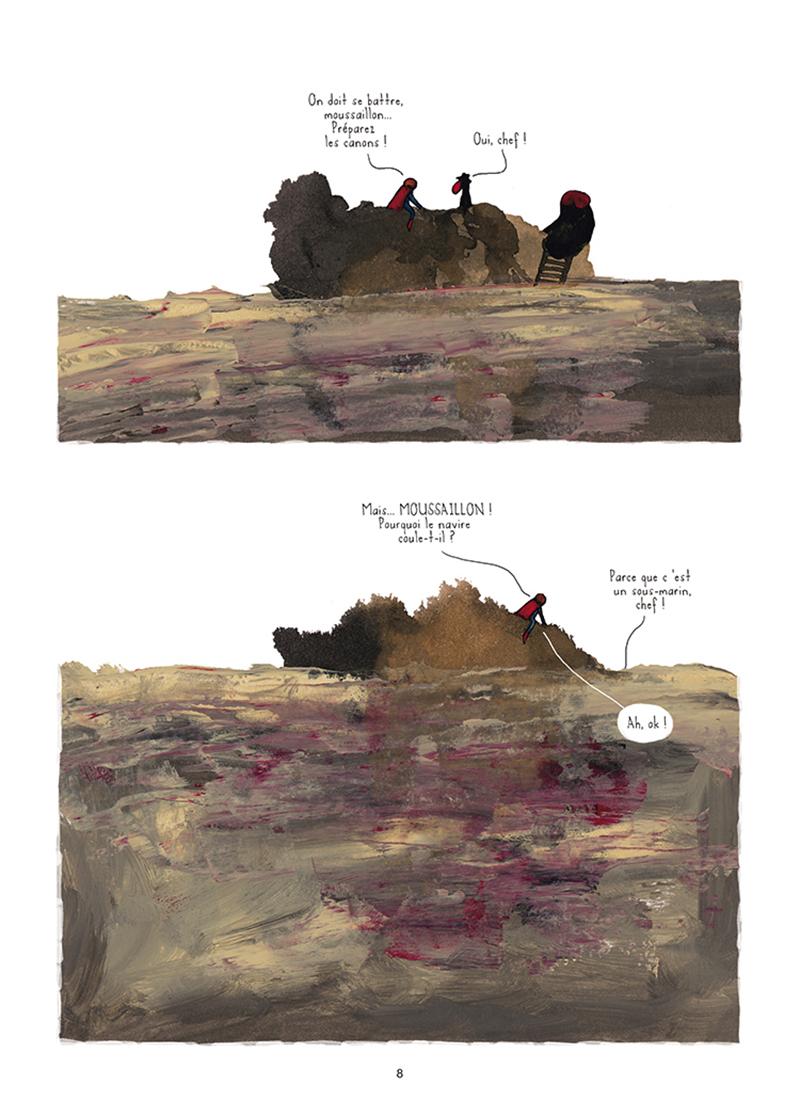 Extrait n°3 de la bd Mourir (ça n'existe pas) par Théa Rojzman