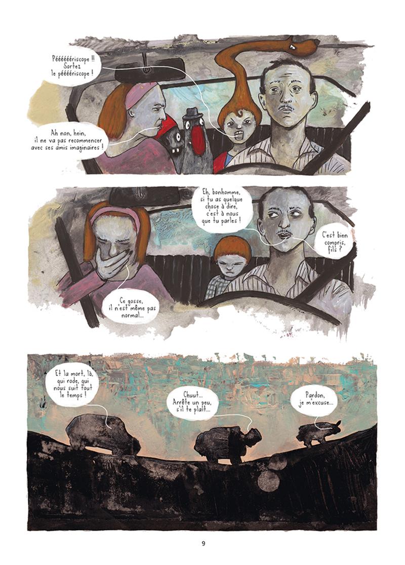Extrait n°4 de la bd Mourir (ça n'existe pas) par Théa Rojzman