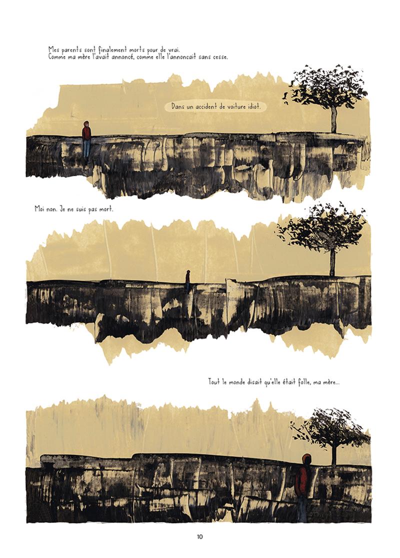 Extrait n°5 de la bd Mourir (ça n'existe pas) par Théa Rojzman