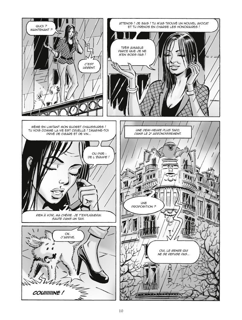 Extrait n°4 de la bd Vin, gloire et bonté par Giuseppe Liotti