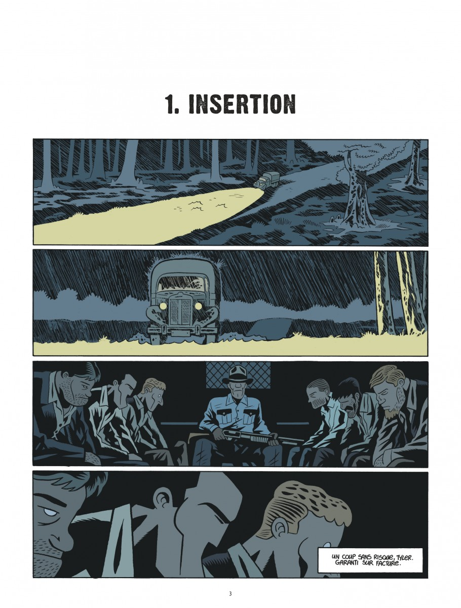 Extrait n°1 de la bd tome 2 par Brüno