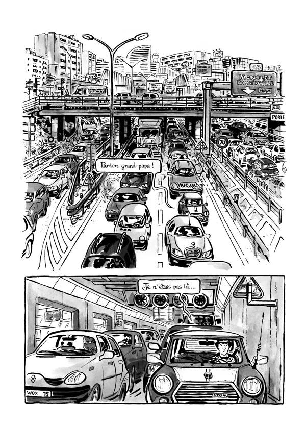 Extrait n°1 de la bd Intrus à l'étrange par Simon Hureau