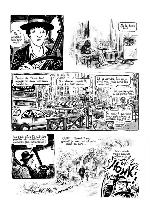 Extrait n°2 de la bd Intrus à l'étrange par Simon Hureau