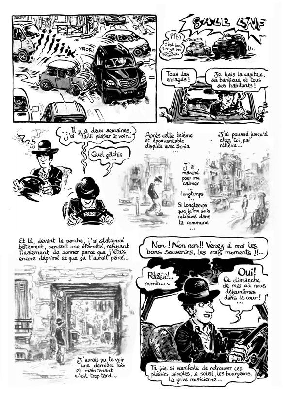 Extrait n°3 de la bd Intrus à l'étrange par Simon Hureau