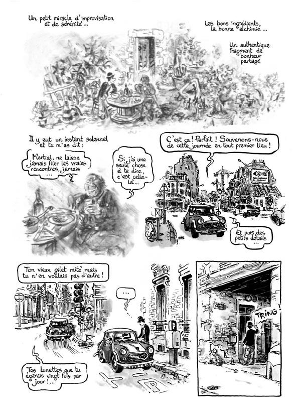 Extrait n°4 de la bd Intrus à l'étrange par Simon Hureau