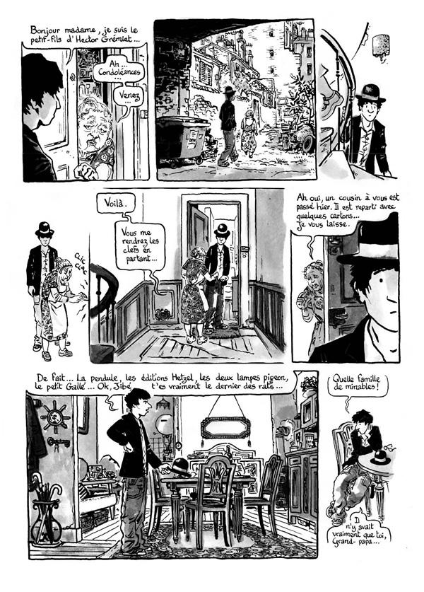 Extrait n°5 de la bd Intrus à l'étrange par Simon Hureau