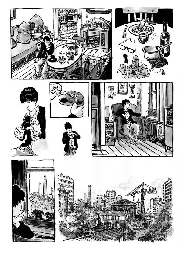 Extrait n°6 de la bd Intrus à l'étrange par Simon Hureau