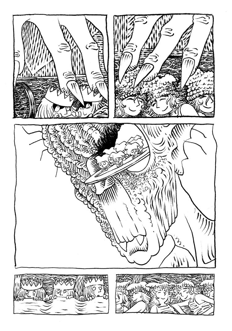 Extrait n°1 de la bd La femme de l'Ogre par Etienne Appert