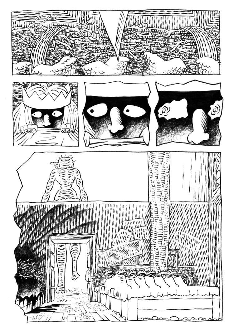 Extrait n°2 de la bd La femme de l'Ogre par Etienne Appert