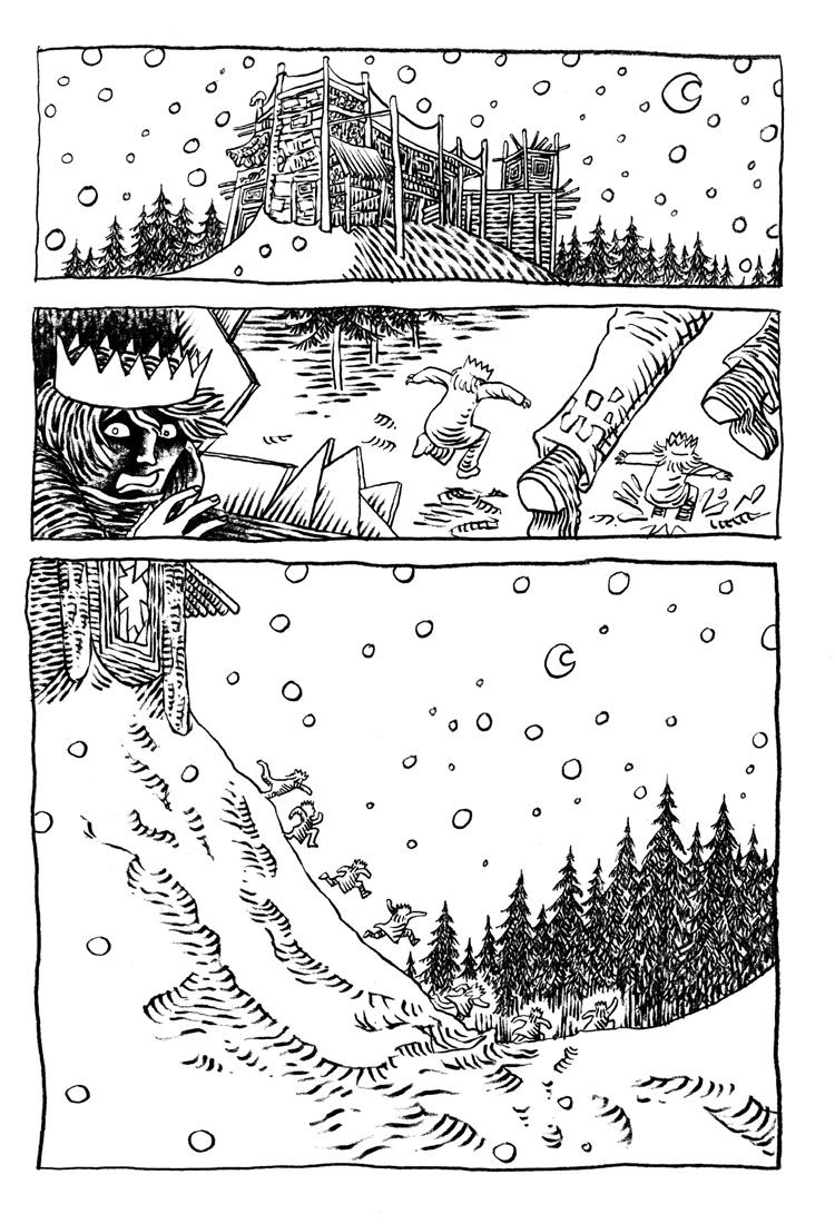 Extrait n°3 de la bd La femme de l'Ogre par Etienne Appert
